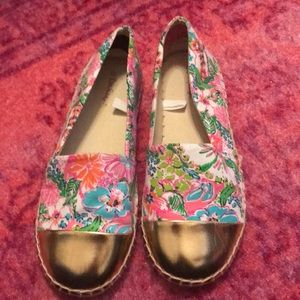 NWOB Lilly Pulitzer for target espadrilles size 5